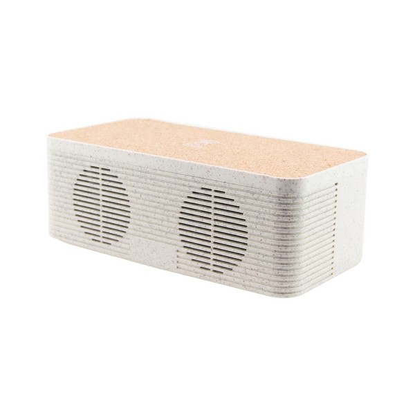Bluetooth Speaker with Qi Wireless Charger KSIX Eco-Friendly 1200 mAh 5W