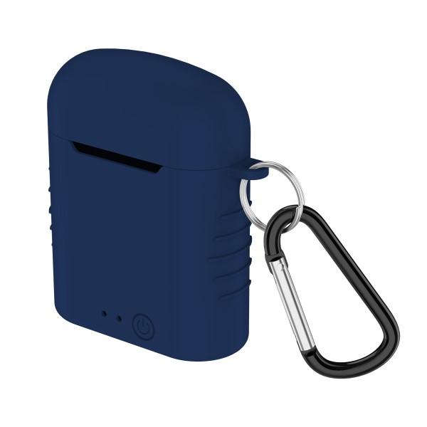Auricolari-Bluetooth-con-Microfono-Contact-Twins-Mini-400-mAh-Bianco miniatura 5