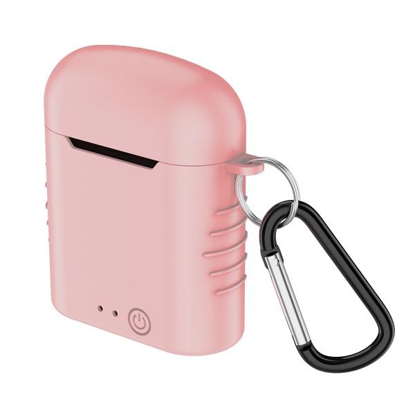Auricolari-Bluetooth-con-Microfono-Contact-Twins-Mini-400-mAh-Bianco miniatura 3