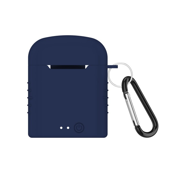 Auricolari-Bluetooth-con-Microfono-Contact-Twins-Mini-400-mAh-Bianco miniatura 2
