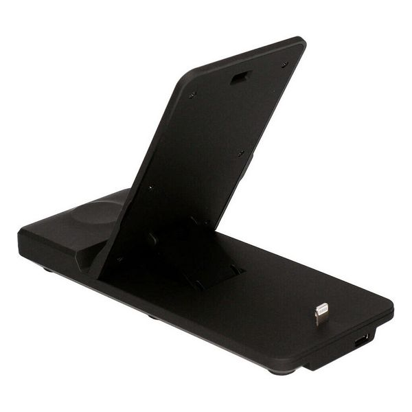 Cargador Inalámbrico KSIX Standing Station 3in1 7,5W-10W Negro (6)