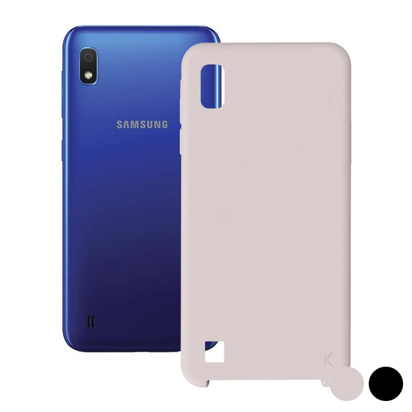 Mobile cover Samsung Galaxy A10 KSIX Soft