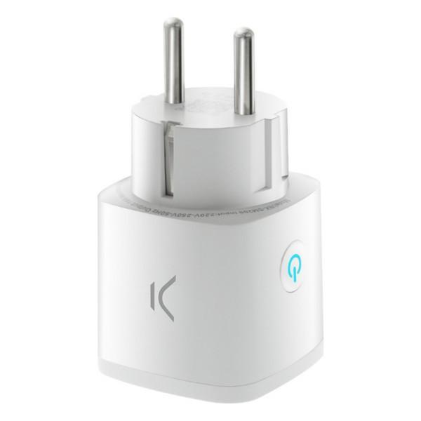 Smart Plug KSIX Smart Energy Mini WIFI 250V White