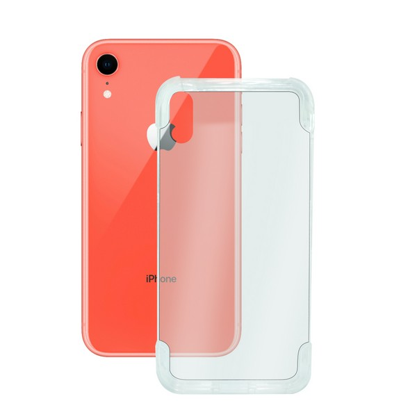 Mobile cover Iphone Xr KSIX Flex Armor Transparent