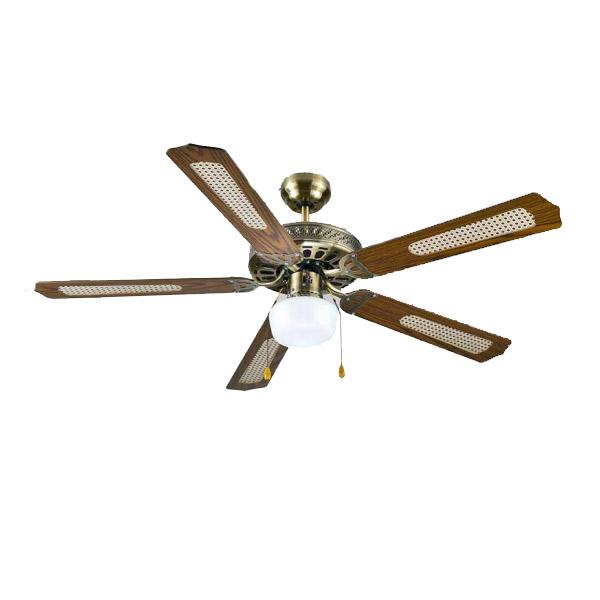 Ceiling Fan with Light Grupo FM FM VT-CLASSIC 60W 132 CM