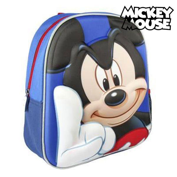 Mochila Infantil 3D Mickey Mouse 7907