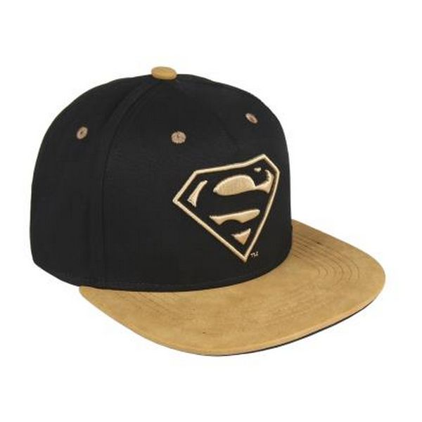 Child Cap Black Superman 1001 (58 cm)