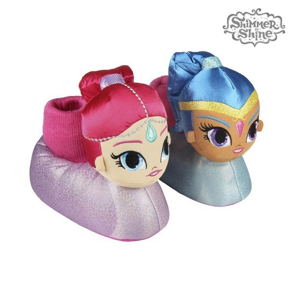 3D House Slippers Shimmer and Shine 73347
