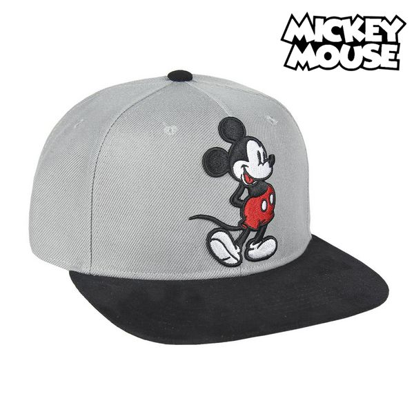 Child Cap Mickey Mouse 73346 (59 cm) Grey Black