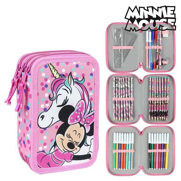 Triple Pencil Case Minnie Mouse 78735