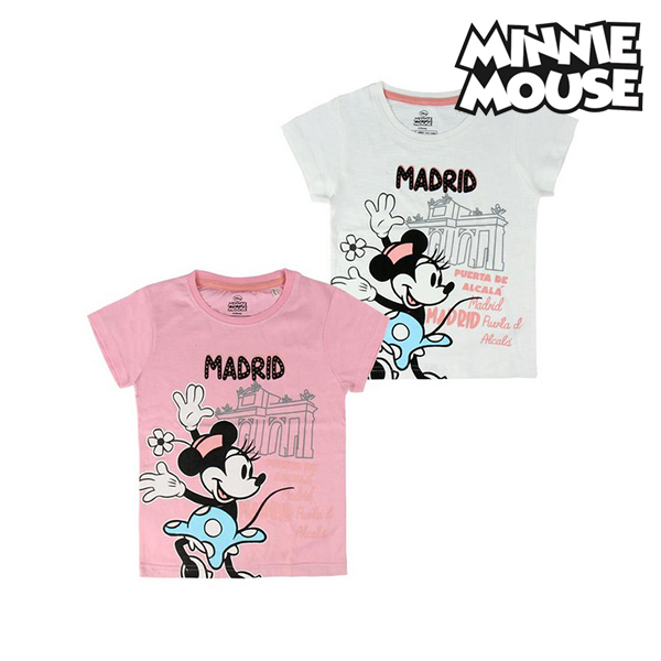 Child's Short Sleeve T-Shirt Madrid Minnie Mouse 73845