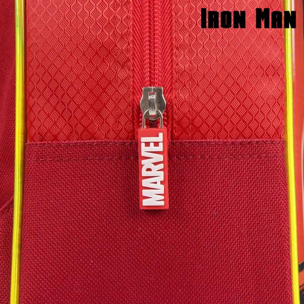 Mochila Infantil 3D Iron Man The Avengers 72613 Rojo (4)