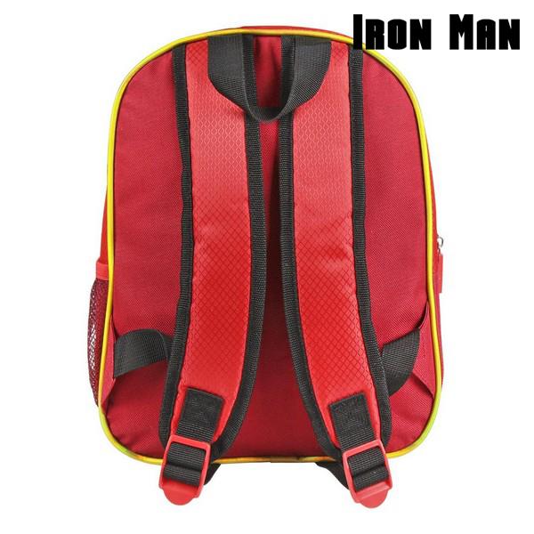 Mochila Infantil 3D Iron Man The Avengers 72613 Rojo (3)