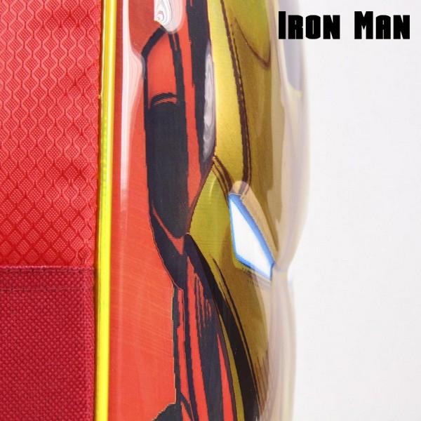 Mochila Infantil 3D Iron Man The Avengers 72613 Rojo (2)