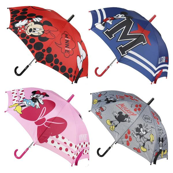 Automatic Umbrella Mickey Mouse Disney Navy Blue (Ø 45 cm)