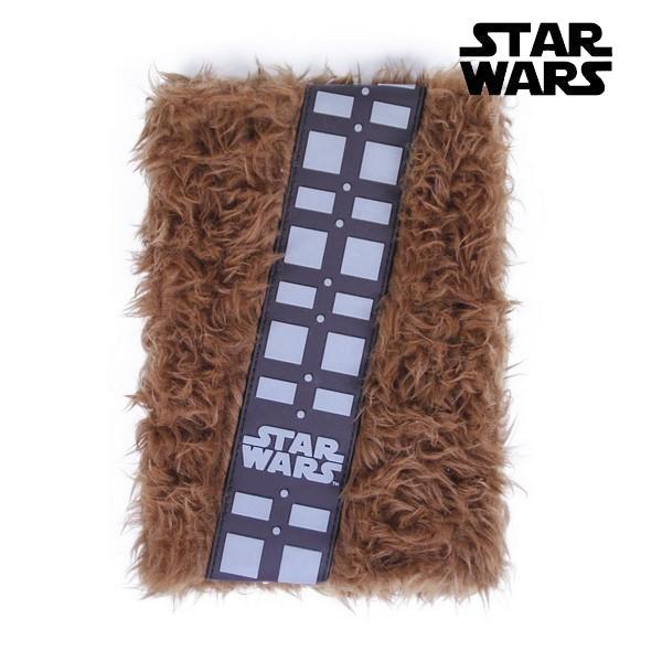 Notebook Chewbacca Star Wars Brown