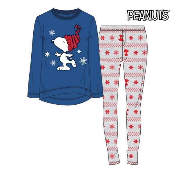 Pyjama Snoopy Lady Blue 74851