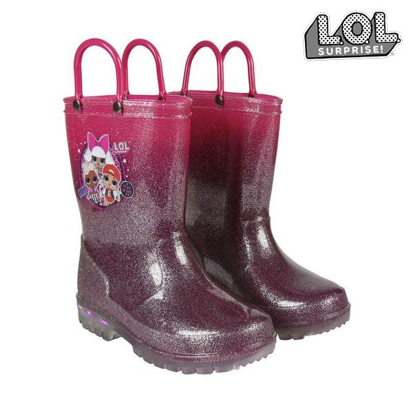 Children's Water Boots LOL Surprise! Fuchsia Purple