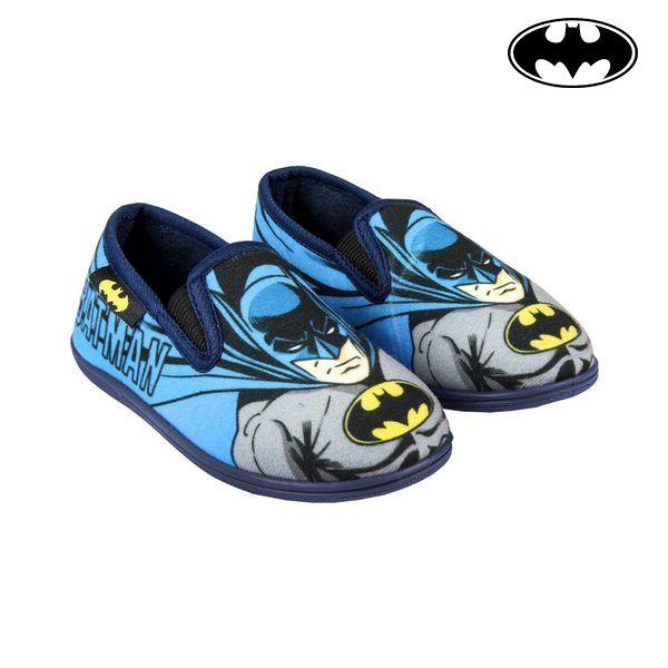House Slippers Batman Blue
