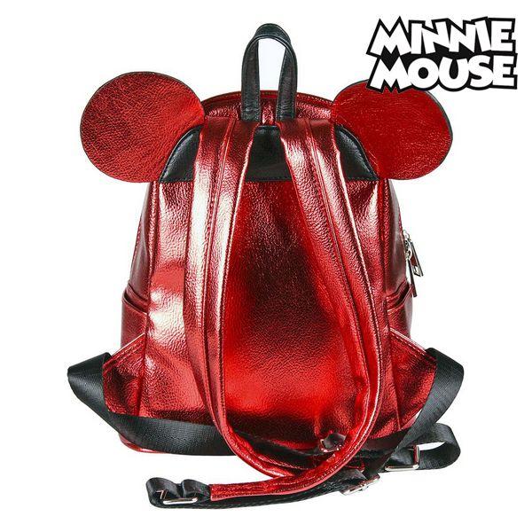 Mochila Casual Minnie Mouse 72822 Rojo Metalizado (3)