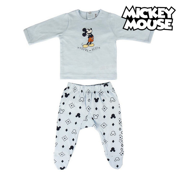 Baby Pyjamas Mickey Mouse Light blue