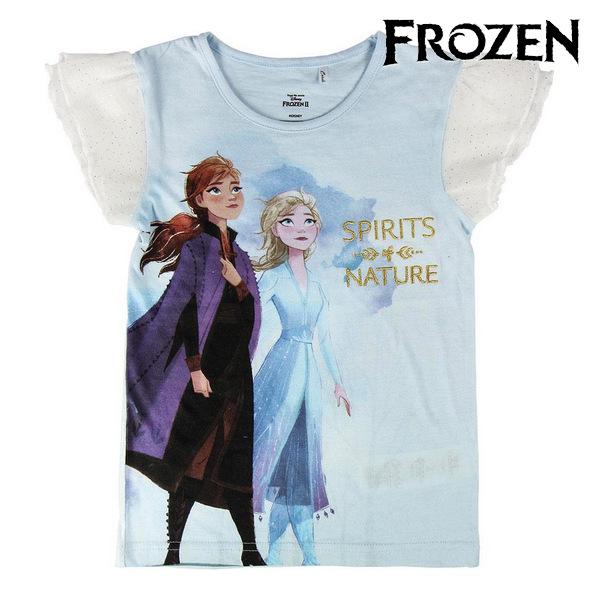 Child's Short Sleeve T-Shirt Frozen Light blue