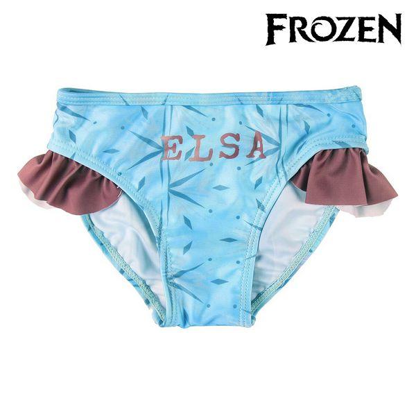 Bikini Bottoms For Girls Frozen Blue