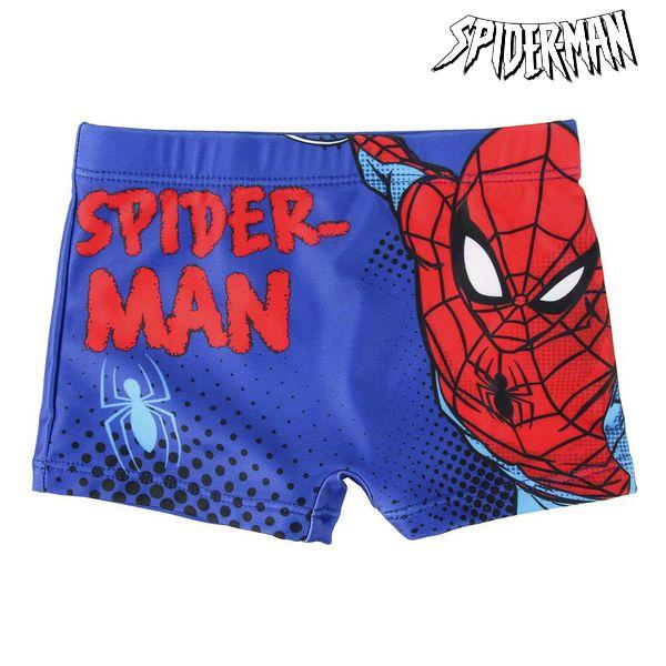 Boys Swim Shorts Spiderman Blue