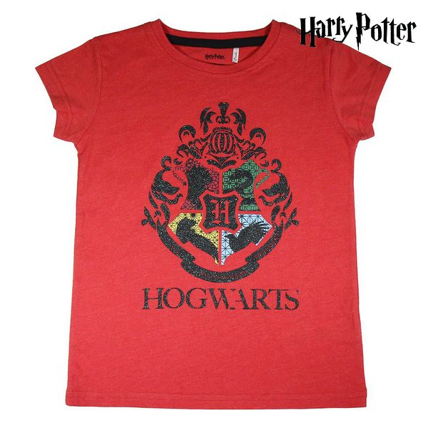 Child's Short Sleeve T-Shirt Harry Potter Red