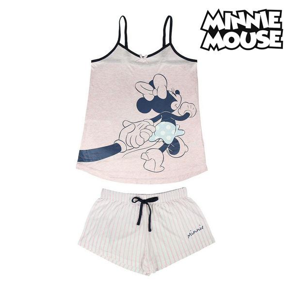 Summer Pyjama Minnie Mouse Pink Adults Fashion Accessories