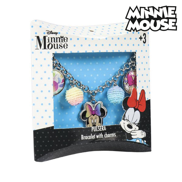 Barcelet Fille Minnie Mouse 71336 Perles