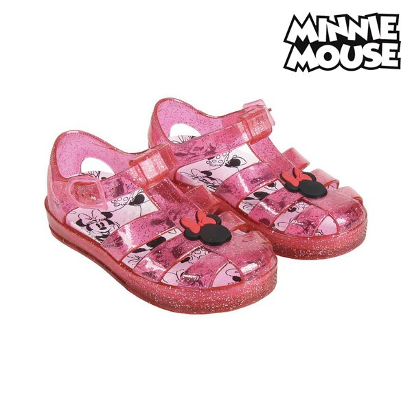 Beach Sandals Minnie Mouse 74417 Red