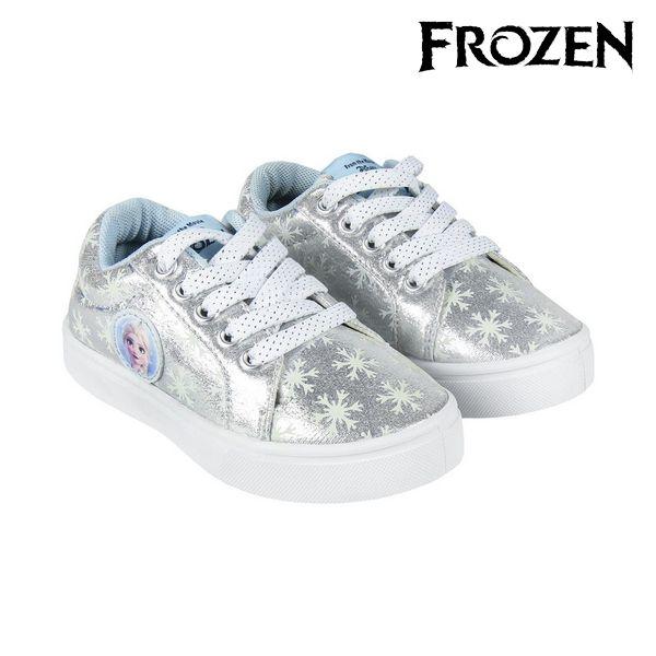 Children's Casual Trainers Frozen 74351 Silver
