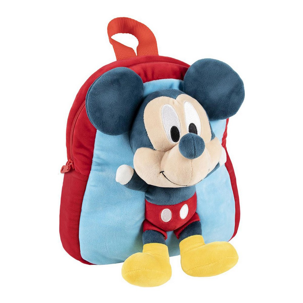 3D Child bag Mickey Mouse Blue (20 x 23 x 8 cm)