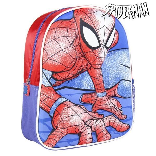 3D Child bag Spiderman Red