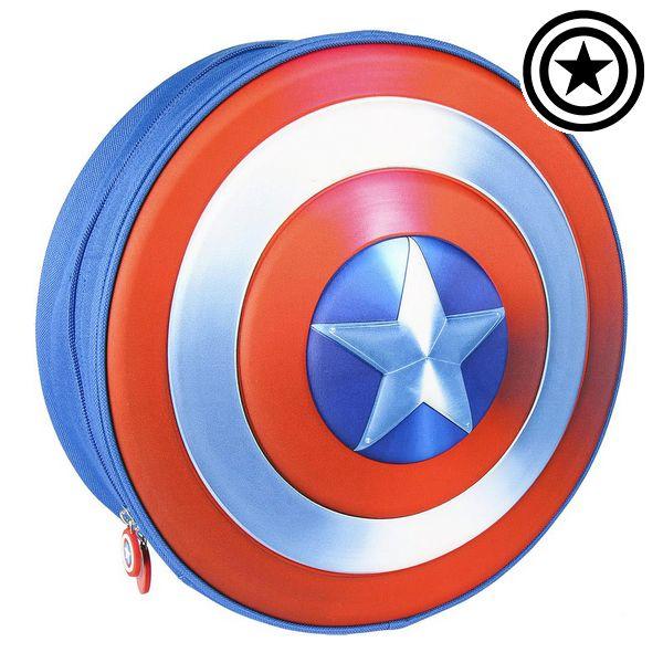 3D Child bag The Avengers Blue