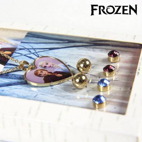 Conjunto Collar y Pendientes Frozen 71365 Dorado (3)