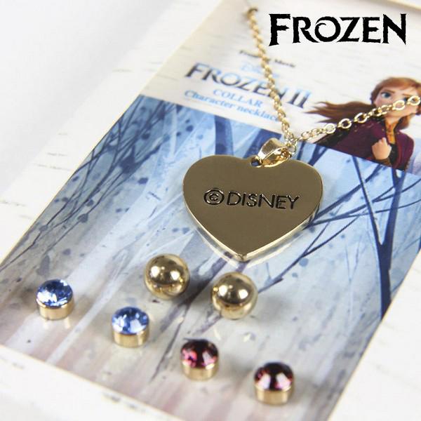 Conjunto Collar y Pendientes Frozen 71365 Dorado (2)