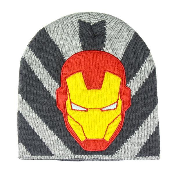 Child Hat Ironman The Avengers Grey