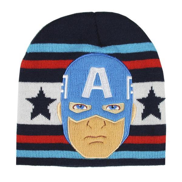 Child Hat Captain America The Avengers Navy Blue