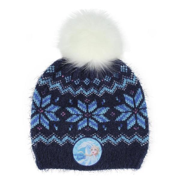Child Hat Frozen Navy Blue