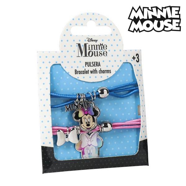 Pulsera Niña Minnie Mouse 73928 (2 uds)