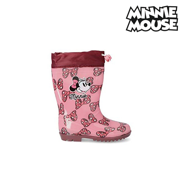 Children's Water Boots Minnie Mouse Pink