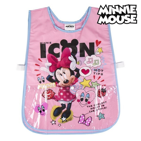 Bib Minnie Mouse Pink