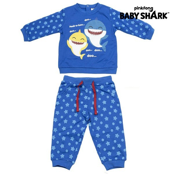 Baby's Tracksuit Baby Shark Blue