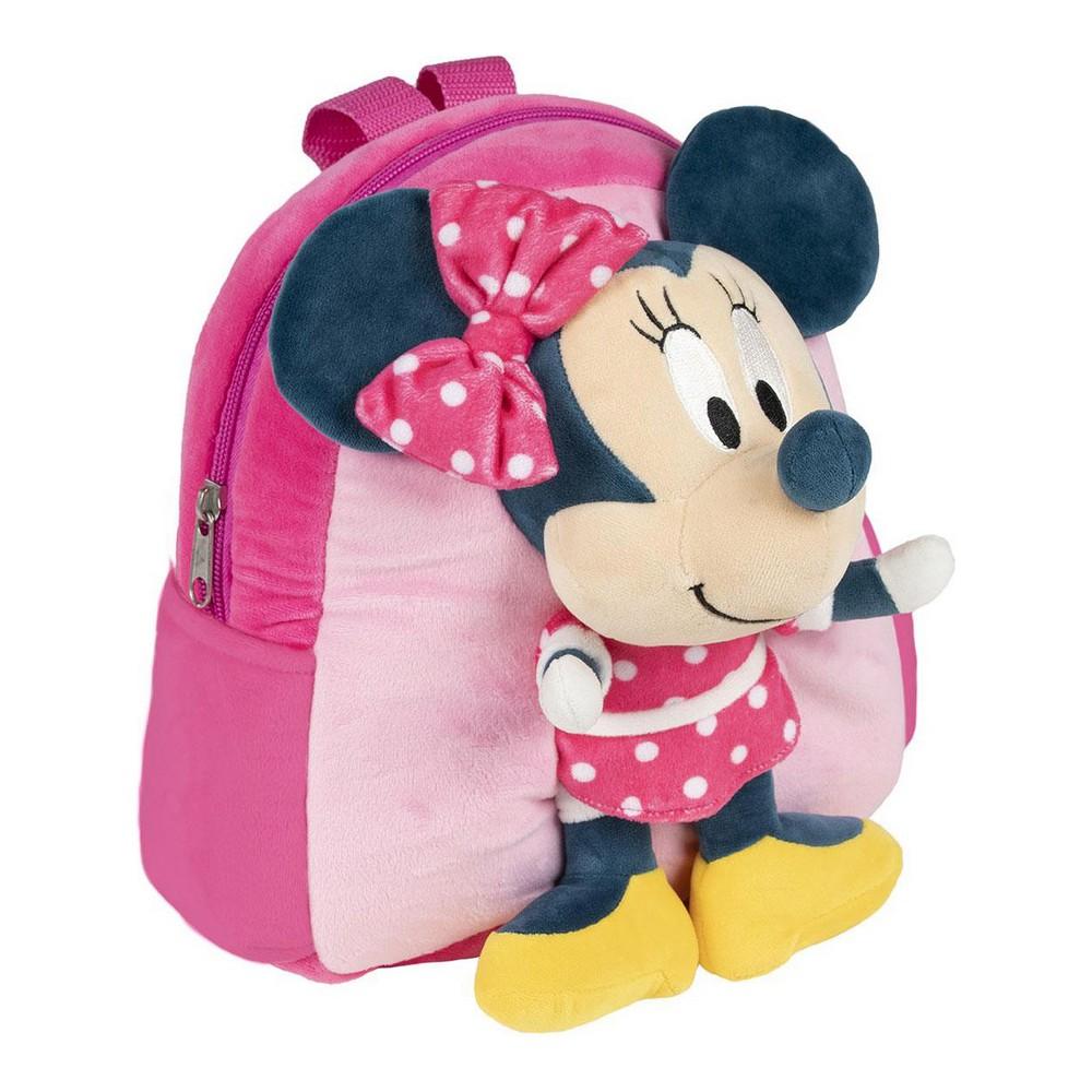 3D Child bag Minnie Mouse Pink (20 x 23 x 8 cm)