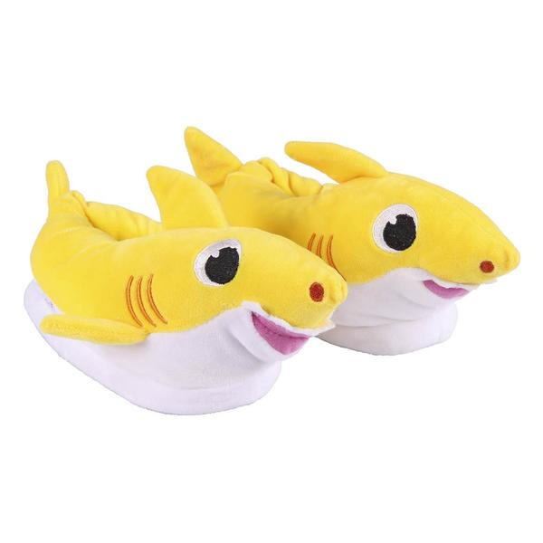 3D House Slippers Baby Shark Yellow