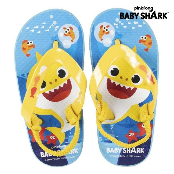 Flip Flops for Children Baby Shark Blue