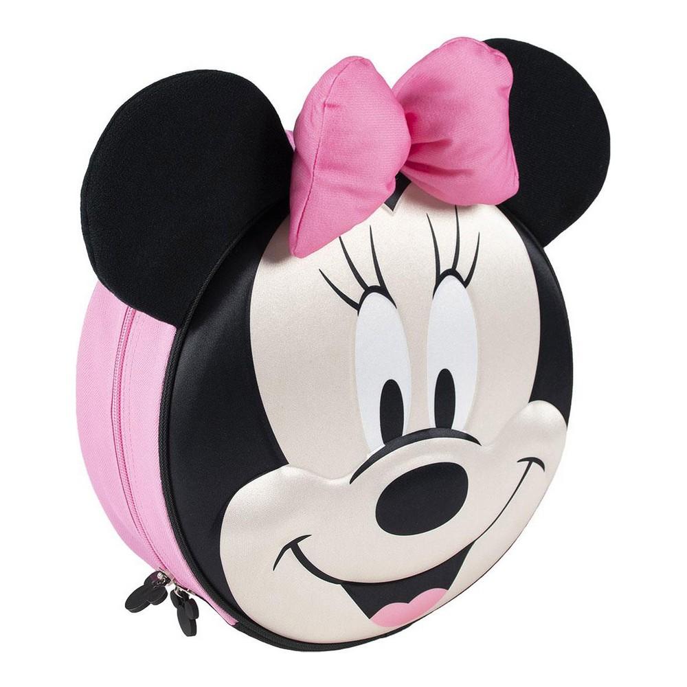3D Child bag Minnie Mouse black (9 x 27 x 27 cm)