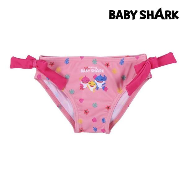 Bikini Bottoms For Girls Baby Shark Pink